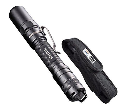 Nitecore MT2A 345 Lumens LED Flashlight w/Bonus Premium Holster - Use 2x AA Batteries