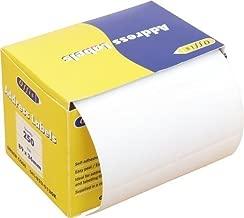 250 Premium Quality Self Adhesive Address Labels On Roll 89mm x 36mm