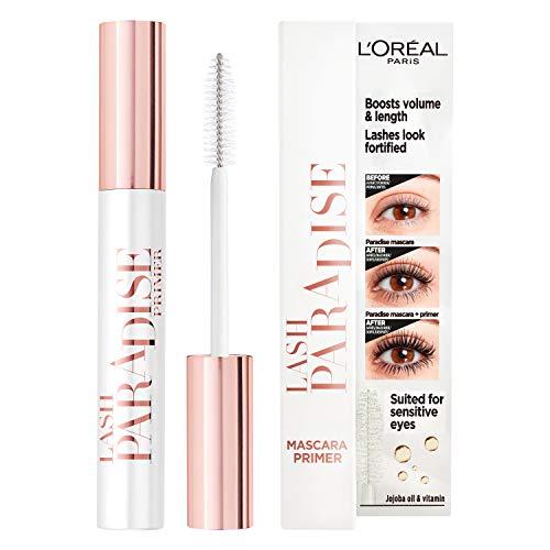 L'Oréal Paris Lash Paradise Mascara Primer- L'Oréal mascara primer voor intens volume, verrijkt met jojoba olie - Mascara Primer - 7,2 ml, 01 White