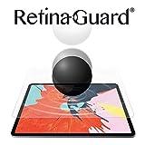 RetinaGuard iPad Pro 9.7インチ アンチブルーライト強化ガラススクリーンプロテクターと壊れないガラスのようなスクリーンプロテクター2枚セット