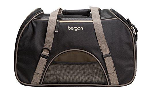 Bergan Comfort Tragetasche, groß, Large, schwarz/braun