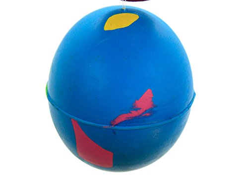 Henbrant 4 Palle per Cani in Gomma Dura – Play n Shoot – Rosso, Verde, Giallo e Blu