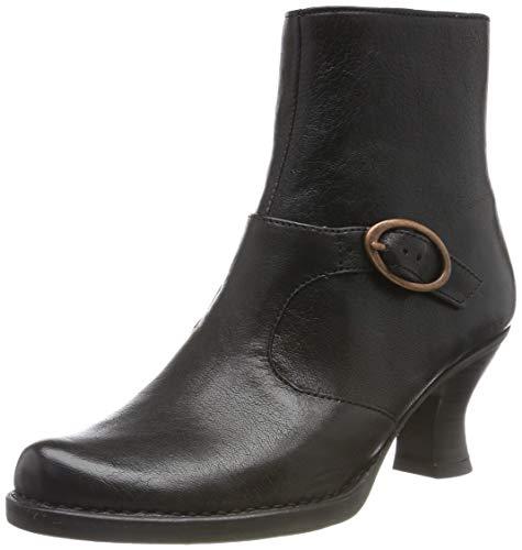 Neosens Damen Dakota Rococo Kurzschaft Stiefel, Schwarz (Black S649), 39 EU