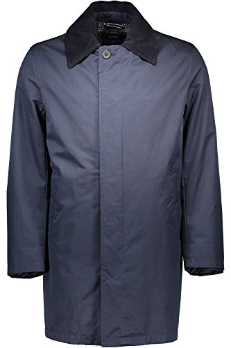 GANT Herren The DETACHER Coat Mantel, Blau (Navy 405), Medium (Herstellergröße: M)
