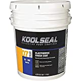 KST COATING KS0063300-20 White Roof Coat, 4.75 Gallon