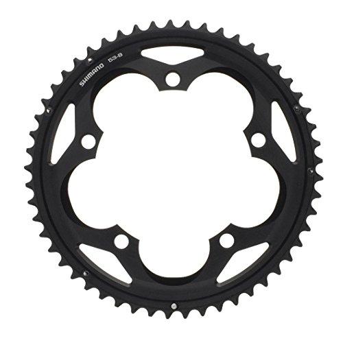 SHIMANO 105 FC-5700 - Plato para Bicicleta, 53 Dientes, 2016, Color Negro