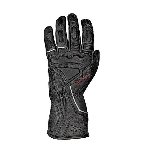 IXS Motorradhandschuhe lang Motorrad Handschuh Tiga 2.0 Herren Sporthandschuh schwarz XL, Sportler, Ganzjährig, Leder