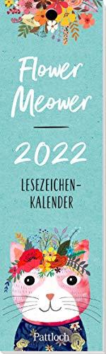 Flower Meower 2022 - Lesezeichenkalender: Lesezeichenkalender