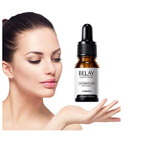 GOOHEAL ZeroPore Instant Perfection Serum | 3 * 10ml Lactobionic Acid Stock Solution Serum Minimize Pores Anti-Aging Wrinkle Lift Firming Essence