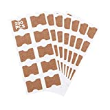 autocollant d'ongle incarné, patch d'ongle élastique, autocollant correction des ongle, pour récupérer le correcteur avec nettoyant et lève-ongles incarné (200pcs)