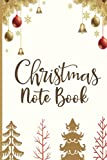 Christmas Notebook: Organize Christmas shopping lists & create a budget plan with this Women's Christmas Gift List Tracker