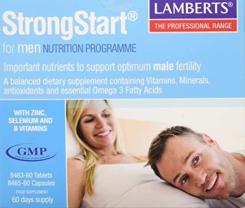Lamberts StrongStart for Men Omega3 Pack - 60 Tabletas