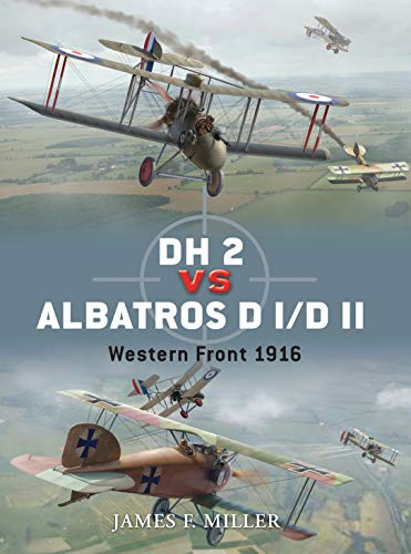 DH 2 vs Albatros D I/D II: Western Front 1916 (Duel, Band 42)