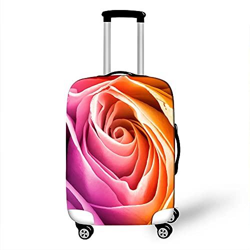 Cover Proteggi Valigia Elasticizzata, Morbuy Suitcase Bagagli Luggage Cover Valigia Anti-graffio Anti-Polvere Elastico Custodia Protettiva da Viaggio (Rosa 7,L)