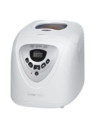 Clatronic BBA 3505 Panificadora programable, capacidad 1 kg, 12 programas cocción, 39 posibilidades, 600 W, 2 litros, Plástico