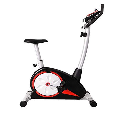 UIZSDIUZ Magnética elíptica Control de la Bicicleta estática, elíptica máquina con Pantalla LCD y la Prueba de frecuencia cardíaca, 8 Resistencia Ajustable del Engranaje, for la Oficina, Gimnasio