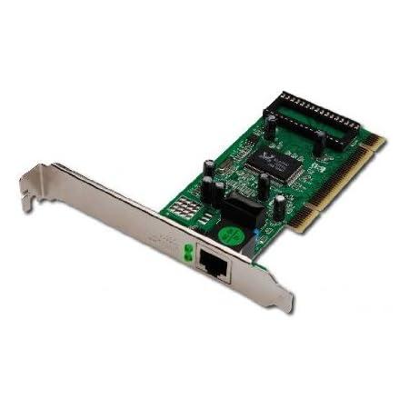 Digitus DN10110 Scheda Aggiuntiva di Rete Gigabit PCI 10/100/1000 32 Bit con Bracket Aggiuntivo Low Profile