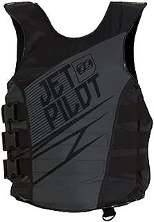 Jet Pilot Matrix Side Entry Nylon PFD (Large / X-Large, Black)