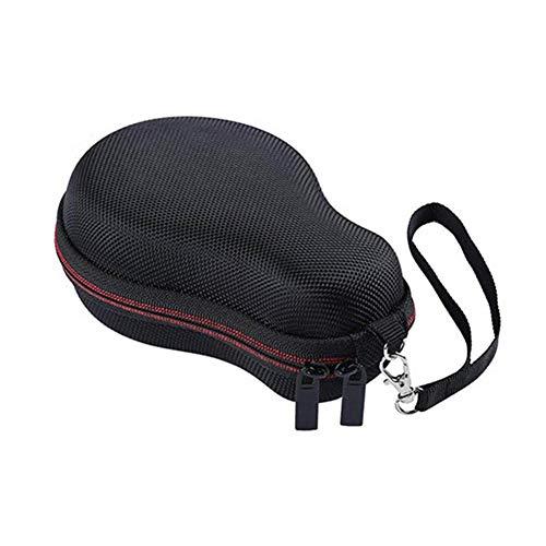 Dyllutrwhe Speaker Storage Bag,Hard Shell Portable Bluetooth Speaker Carrying Case Storage Bag Pouch Compatible with JBL Clip 2/3 Black