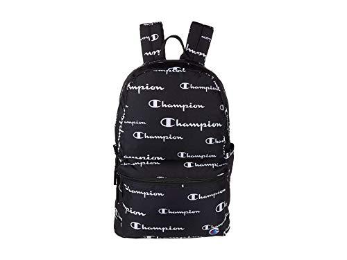 Champion unisex adult Asher Backpack, Black Combo, One Size US