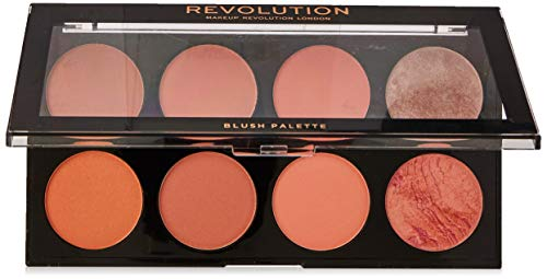Makeup Revolution Ultra Blush Palette Hot Spice Paleta 8 różów do policzków 13g