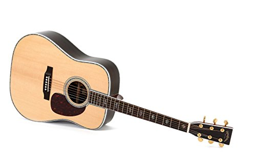Western-Gitarre Sigma DR-45 mit aufwendigem Abalone Binding