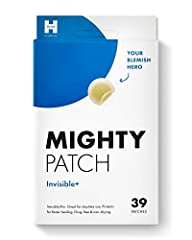 THE INVISIBLE DAYTIME ACNE PATCH. Mighty Patch Invisible+ is our stealthiest hydrocolloid patch yet. Whisper-thin and lightweight, it packs 50% more gunk-absorbing power than other brands, so you can wear it during the day to reduce the appearance of...