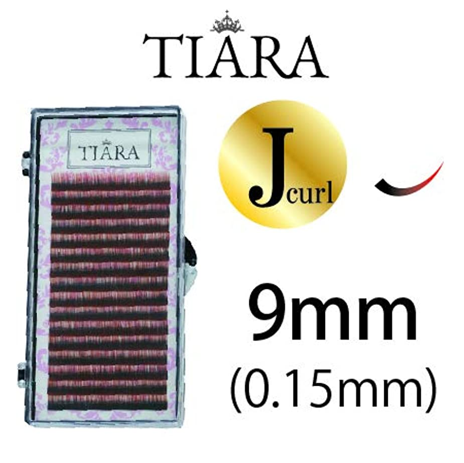 まつげエクステ/グラデーションマツエク/アイリスト共同開発/Jカール/0.15mm/16列シート【グラデーションカラーラッシュTIARA】 (9mm, レッド&ブラック)