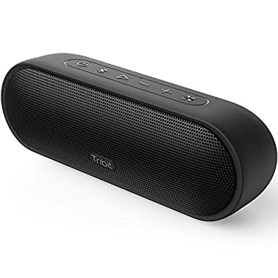 Tribit XSound Plus Portable Bluetooth Speaker with Superior Loud Sound, IPX7 Waterproof, 20-Hour Playtime, 90ft Bluetooth Range, 20W Portable Wireless Speaker Perfect for Party, Travel, Outdoors