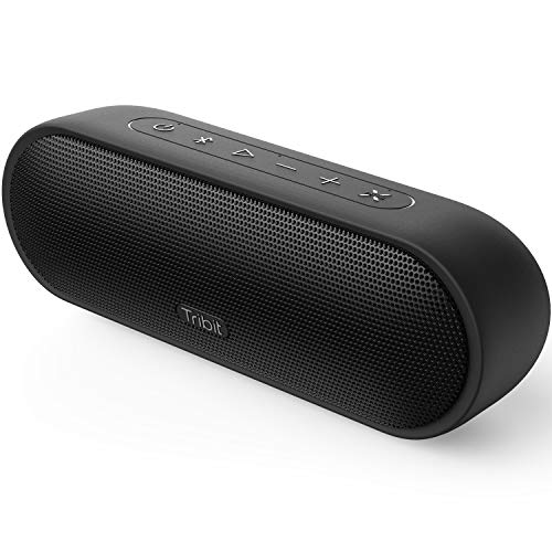Upgraded Tribit MaxSound Plus Portable Bluetooth Speaker with 24W Powerful Louder Sound, Exceptional XBass, Audiobook EQ, 20H Playtime, IPX7 Waterproof, USB-C, TWS Pairing for Party, Travel, Outdoor