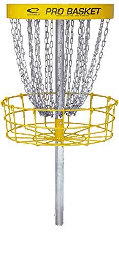New Games - Frisbeesport Professioneller Disc Golf Korb Latitude 64 Pro Basket für mobilen oder dauerhaften Außeneinsatz