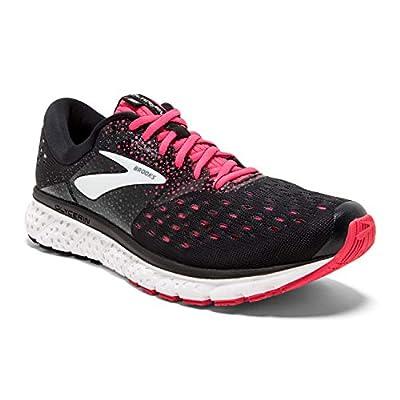Brooks Womens Glycerin 16 Running Shoe - Reflective Black/White/Grey - B - 8.0