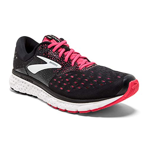 Brooks Glycerin 16, Zapatillas de Running para Mujer, Multicolor (Black/Pink/Grey 070), 38 EU