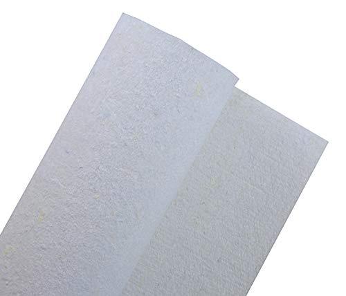 Geotextilvlies Drainagevlies Filtervlies Trennvlies wasserdurchlässig weiß Unkrautvlies Faservlies 200g/m²-600g/m² Breite Länge Grammatur wählbar(300g/m² in 2m Breite)