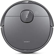ECOVACS DEEBOT OZMO T8 Robot Vacuum Cleaner & Mop with Smart Object Detection & Avoidance, Advanced Laser Mapping, Custom Clean Programming, High Efficiency Filter Ideal for Pet Hair, 3 Hrs of Runtime