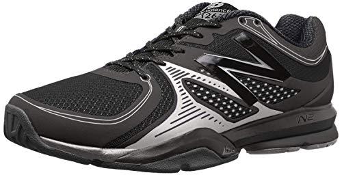 New Balance Men's MX1267 Training Shoe,Black/Silver,10.5 4E US