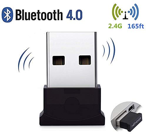 Bluetooth USB Adapter, 4.0 Bluetooth Low Energy 2.4Ghz Range Wireless...