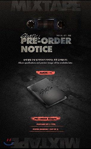 STRAY KIDS - Mixtape (Debut Album) CD+Folded Poster