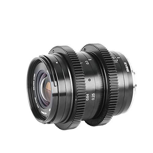 MEIKE Objektiv für Fujifilm Kameras wie XT1, XT2, XT20, XA10, 25 mm F/2.0, geringe Verzerrung, große Blende, manueller Fokus