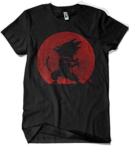 Camisetas La Colmena 2201-Parodia Kame Hame Ha - Dragon Ball - Goku (Melonseta)
