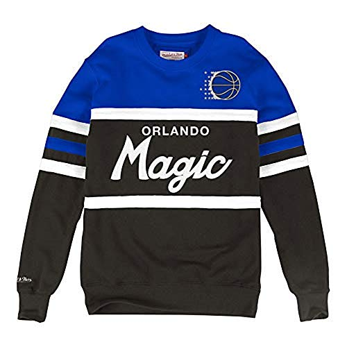 Mitchell & Ness - Felpa Crew NBA Magic Orlando Uomo (M)
