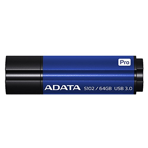 ADATA S102 Pro Advanced 64GB USB3.1 Flashlaufwerk, blau