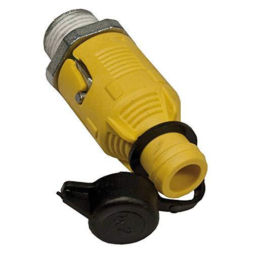 Stens 125-508 Oil Drain Plug , Black