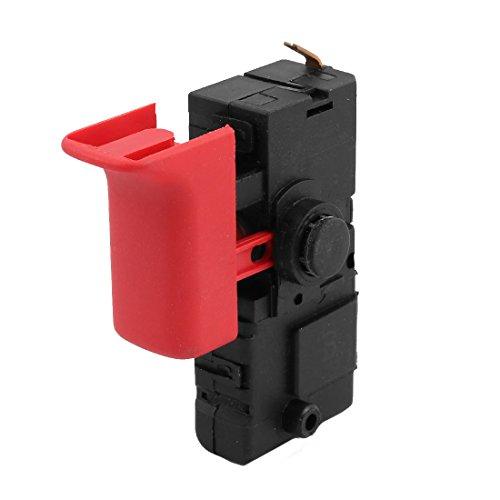 Aexit AC 250V 4 (3) A / 125V 8 (6) A SPST Bloqueo en el interruptor de gatillo para for bosch (model: U2868OIV-8914VZ) 22 Churn Drill