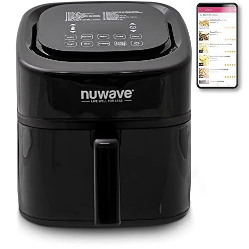 NuWave 8-quart 6-in-1 Brio Healthy Digital Air Fryer with One-Touch...