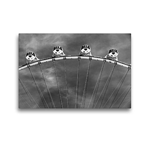 Premium Textil-Leinwand 45 x 30 cm Quer-Format High Roller | Wandbild, HD-Bild auf Keilrahmen, Fertigbild auf hochwertigem Vlies, Leinwanddruck von Bernd Lutz