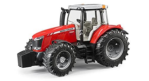 Bruder 03046 - Massey Ferguson 7624, Traktor kompatibel mit bworld Figur