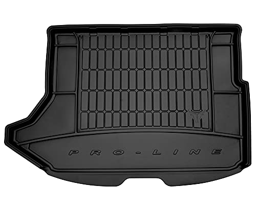 Dry Frogum Protezione per bagagliaio in gomma compatibile con Dodge Caliber 2006-2011 (con ruota di ricambio fissa) | Tappetino bagagliaio auto accessori | Ideale per cani animali domestici