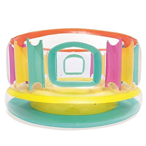 180cmx86cmInflatable Trampoline Ring Children's Bouncer Castle Amusement Park Speelgoed Sport & Outdoor Playhouses speelbadjes Aerated bed springen Binnen Buiten Bungee Game