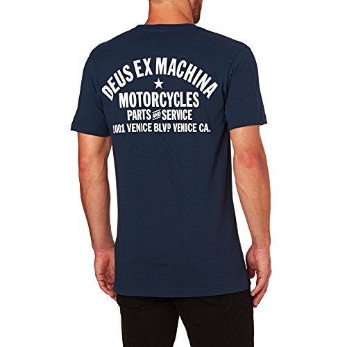Deus Ex Machina - Camiseta - para hombre azul multicolor Medium
